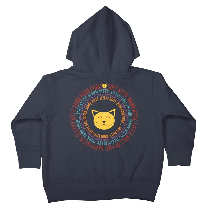 Theoretical Physics Nerd - Soft Kitty Song - colored Kids Toddler Zip-Up Hoody by EDDArts Shop