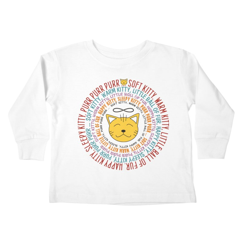 Theoretical Physics Nerd - Soft Kitty Song - colored Kids Toddler Longsleeve T-Shirt by EDDArts Shop
