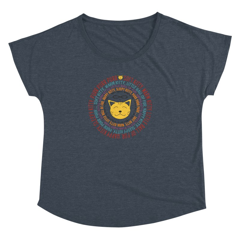 Theoretical Physics Nerd - Soft Kitty Song - colored Women's Dolman Scoop Neck by EDDArts Shop