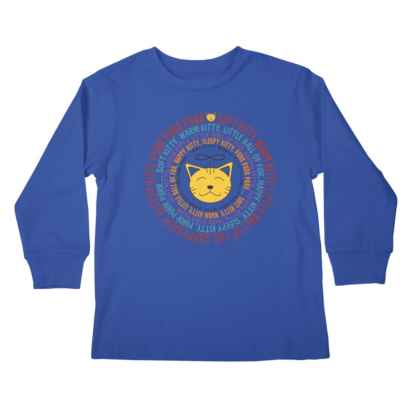 Theoretical Physics Nerd - Soft Kitty Song - colored Kids Longsleeve T-Shirt by EDDArts Shop