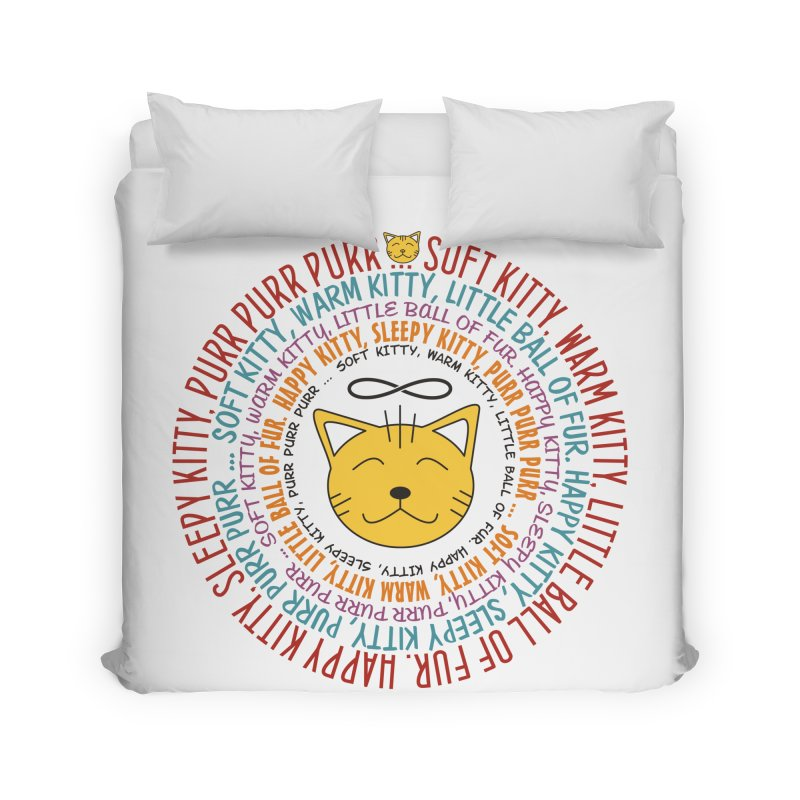 Theoretical Physics Nerd - Soft Kitty Song - colored Home Duvet by EDDArts Shop