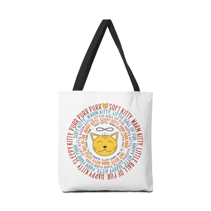 Theoretical Physics Nerd - Soft Kitty Song - colored Accessories Bag by EDDArts Shop