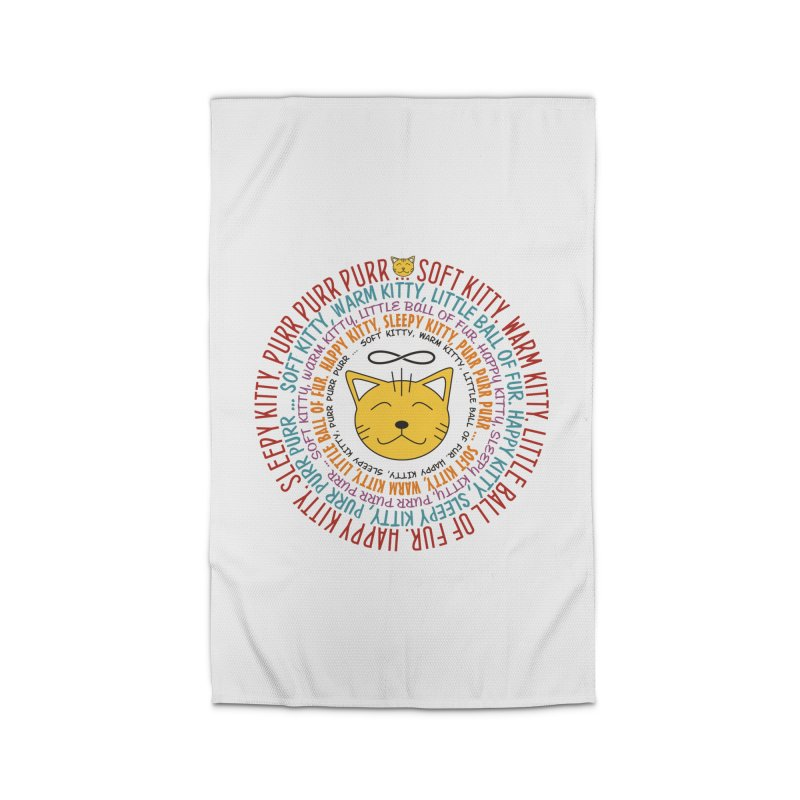 Theoretical Physics Nerd - Soft Kitty Song - colored Home Rug by EDDArts Shop