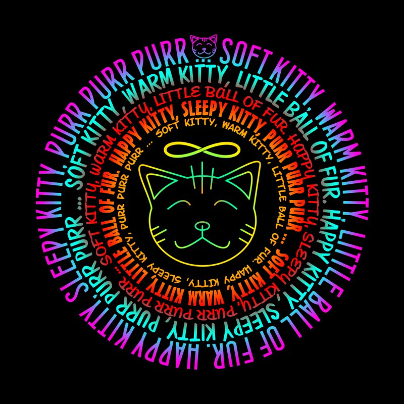 Theoretical Physics Nerd - Soft Kitty Song - neon Kids T-Shirt by EDDArts Shop