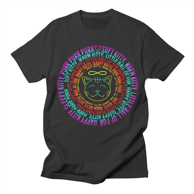 Theoretical Physics Nerd - Soft Kitty Song - neon Women's Regular Unisex T-Shirt by EDDArts Shop