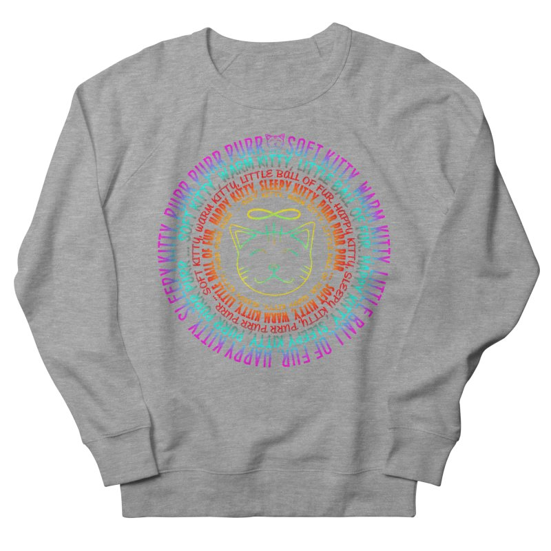 Theoretical Physics Nerd - Soft Kitty Song - neon Women's French Terry Sweatshirt by EDDArts Shop