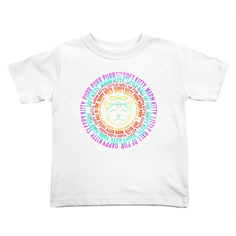 Theoretical Physics Nerd - Soft Kitty Song - neon Kids Toddler T-Shirt by EDDArts Shop