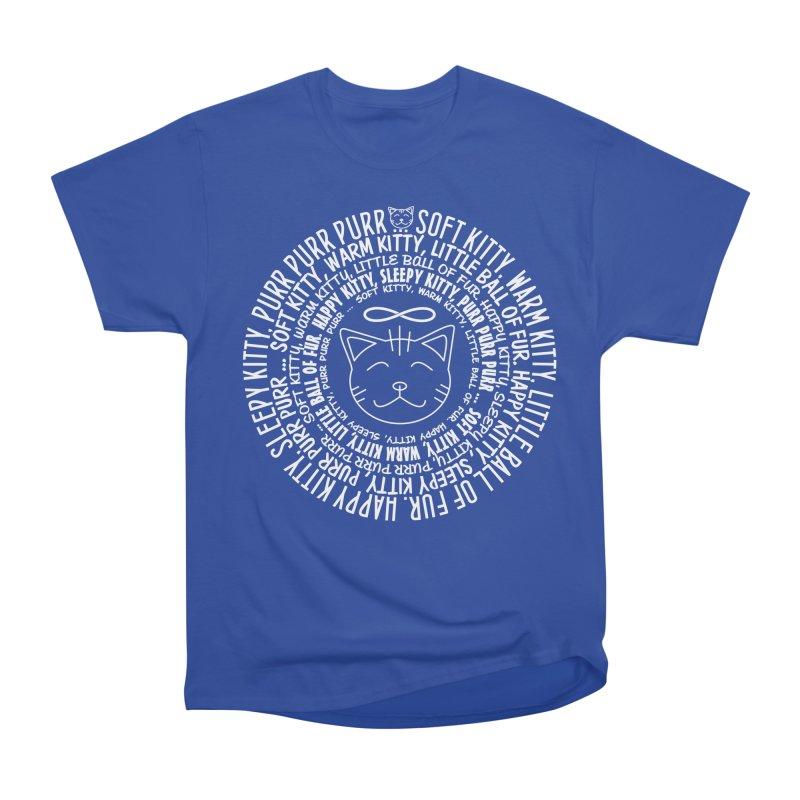 Theoretical Physics Nerd - Soft Kitty Song - white Men's Heavyweight T-Shirt by EDDArts Shop