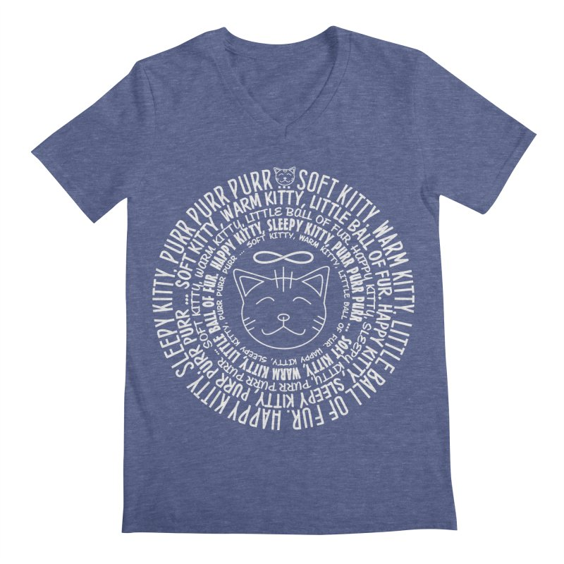 Theoretical Physics Nerd - Soft Kitty Song - white Men's  by EDDArts Shop