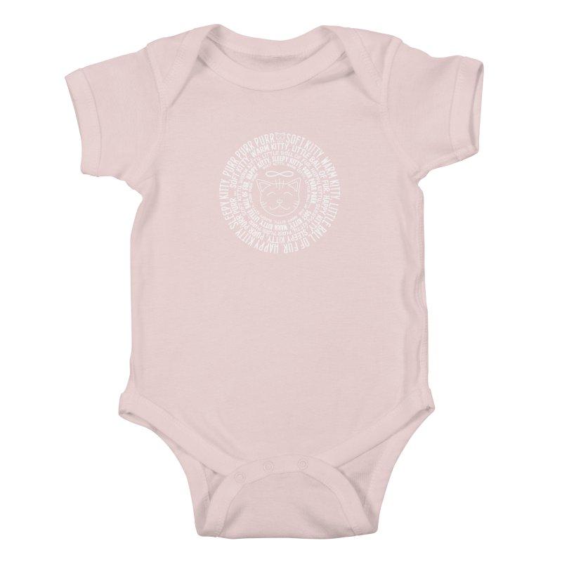 Theoretical Physics Nerd - Soft Kitty Song - white Kids Baby Bodysuit by EDDArts Shop