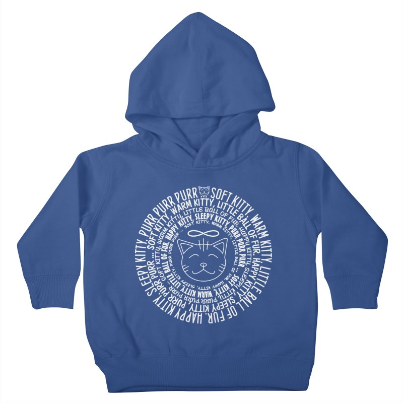 Theoretical Physics Nerd - Soft Kitty Song - white Kids Toddler Pullover Hoody by EDDArts Shop