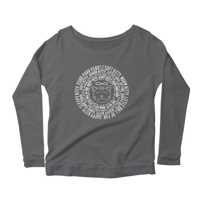 Theoretical Physics Nerd - Soft Kitty Song - white Women's Longsleeve T-Shirt by EDDArts Shop