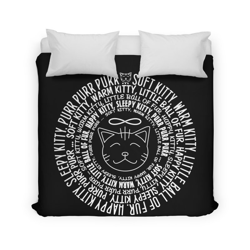 Theoretical Physics Nerd - Soft Kitty Song - white Home Duvet by EDDArts Shop