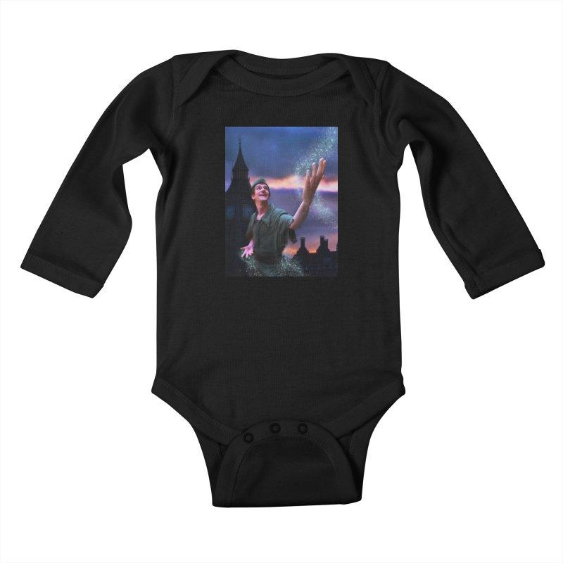 CHASING TINKER BELL Kids Baby Longsleeve Bodysuit by Eddie Christian's Artist Shop