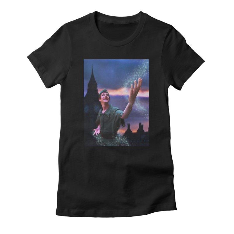 CHASING TINKER BELL Women's T-Shirt by Eddie Christian's Artist Shop