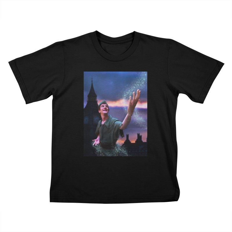 CHASING TINKER BELL Kids T-Shirt by Eddie Christian's Artist Shop