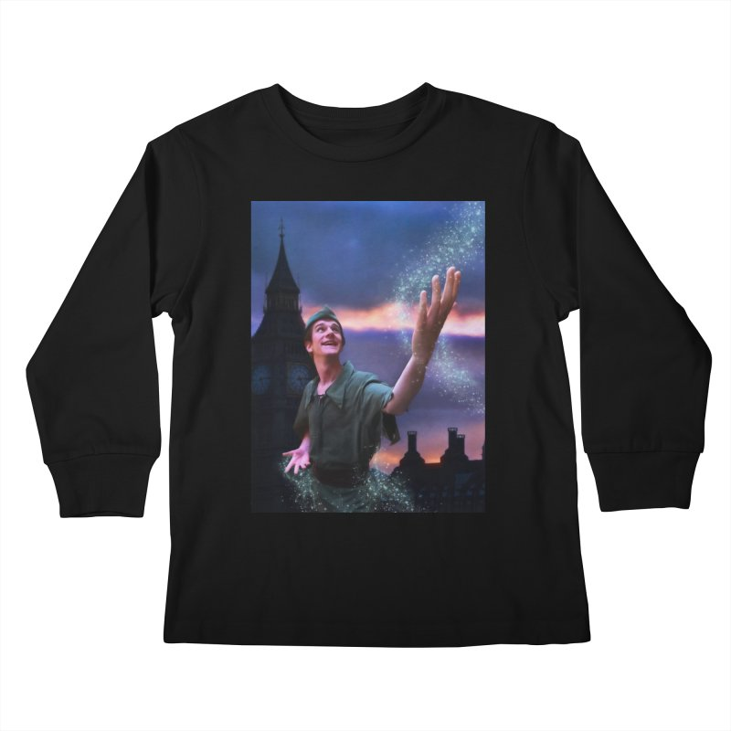 CHASING TINKER BELL Kids Longsleeve T-Shirt by Eddie Christian's Artist Shop