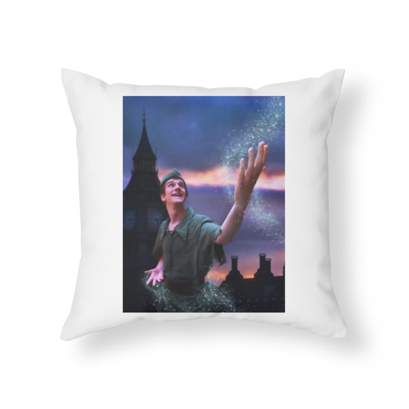 CHASING TINKER BELL Home Throw Pillow by Eddie Christian's Artist Shop