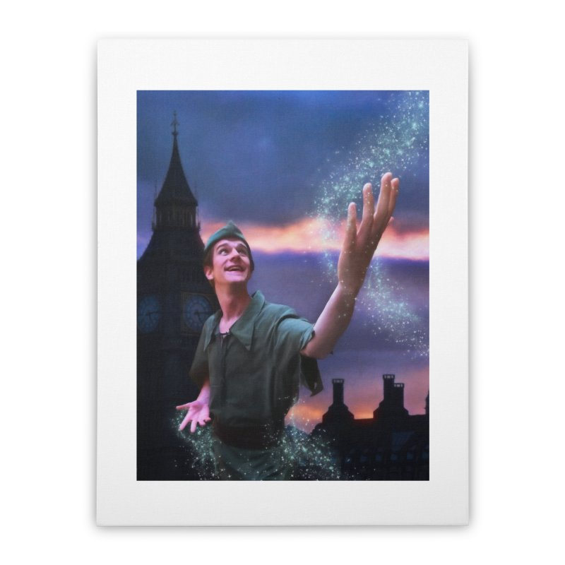 CHASING TINKER BELL Home Stretched Canvas by Eddie Christian's Artist Shop