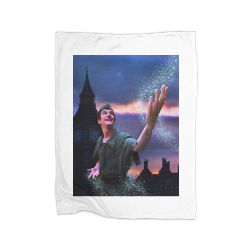 CHASING TINKER BELL Home Blanket by Eddie Christian's Artist Shop