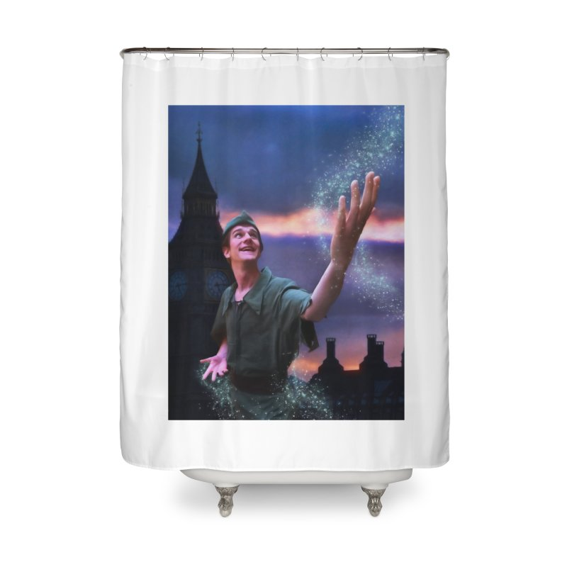 CHASING TINKER BELL Home Shower Curtain by Eddie Christian's Artist Shop