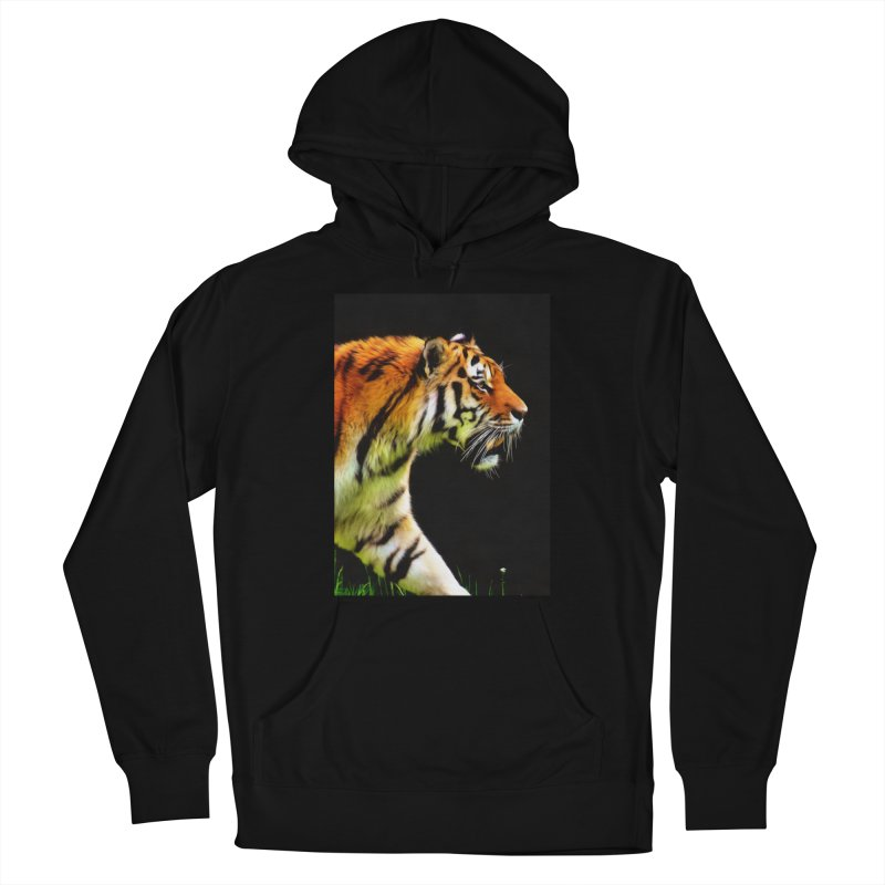 EDDIE'S TIGER Men's Pullover Hoody by Eddie Christian's Artist Shop