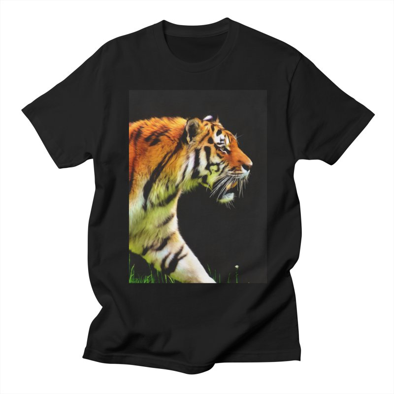 EDDIE'S TIGER Men's T-Shirt by Eddie Christian's Artist Shop