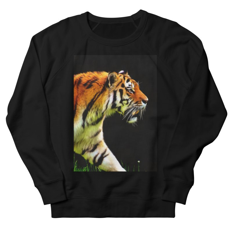 EDDIE'S TIGER Men's Sweatshirt by Eddie Christian's Artist Shop