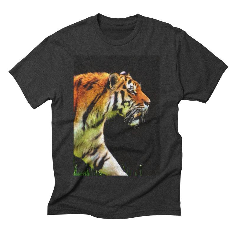 EDDIE'S TIGER Men's T-Shirt by Eddie Christian's Artist Shop