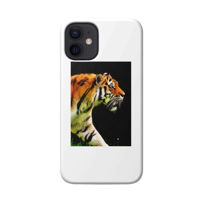 EDDIE'S TIGER Accessories Phone Case by Eddie Christian's Artist Shop