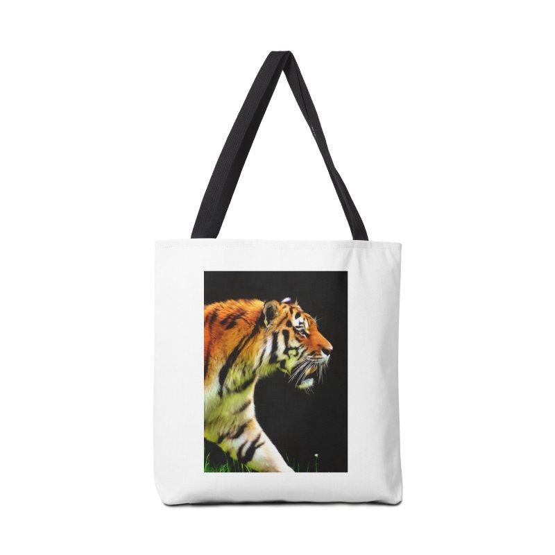 EDDIE'S TIGER Accessories Bag by Eddie Christian's Artist Shop