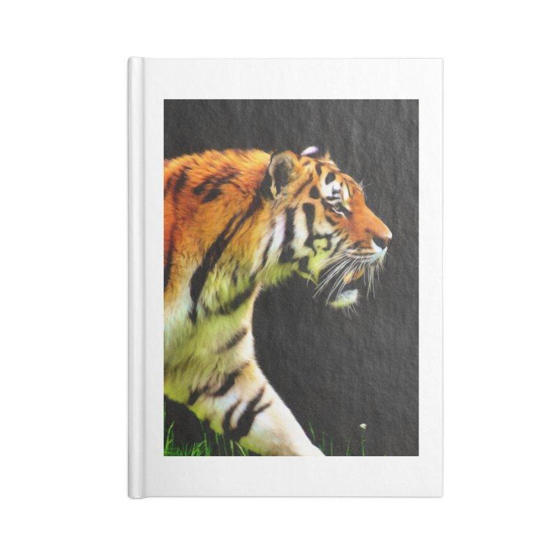 EDDIE'S TIGER Accessories Notebook by Eddie Christian's Artist Shop