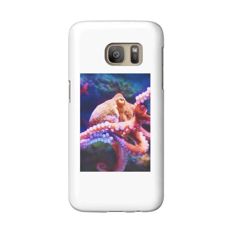 RAINBOW OCTOPUS Accessories Phone Case by Eddie Christian's Artist Shop