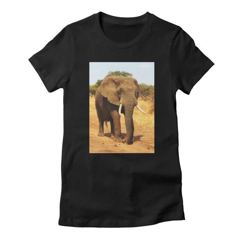 ELEPHANT WALK Women's T-Shirt by Eddie Christian's Artist Shop