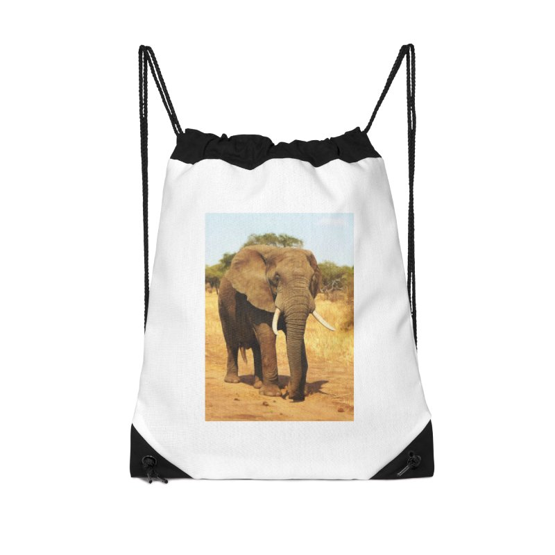 ELEPHANT WALK Accessories Bag by Eddie Christian's Artist Shop