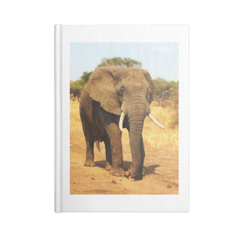ELEPHANT WALK Accessories Notebook by Eddie Christian's Artist Shop