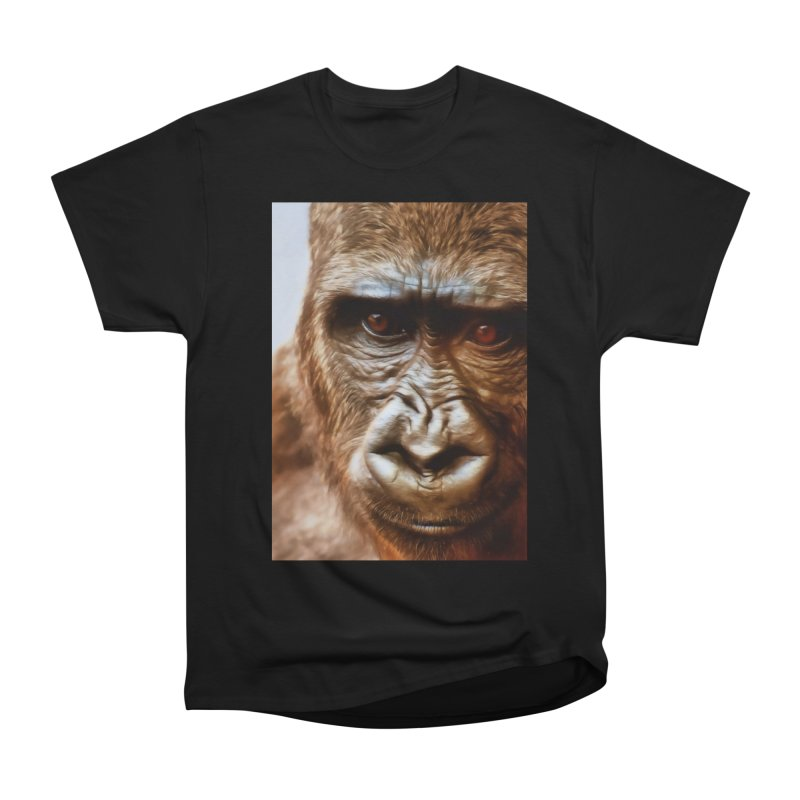 COMPASSION OF THE GORILLA Men's T-Shirt by Eddie Christian's Artist Shop