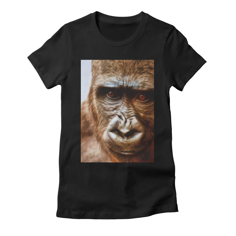 COMPASSION OF THE GORILLA Women's T-Shirt by Eddie Christian's Artist Shop