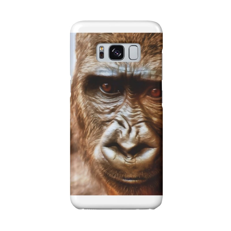 COMPASSION OF THE GORILLA Accessories Phone Case by Eddie Christian's Artist Shop
