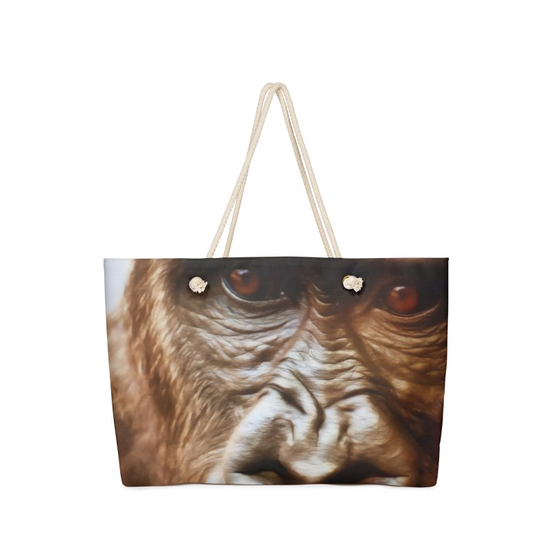 COMPASSION OF THE GORILLA Accessories Bag by Eddie Christian's Artist Shop