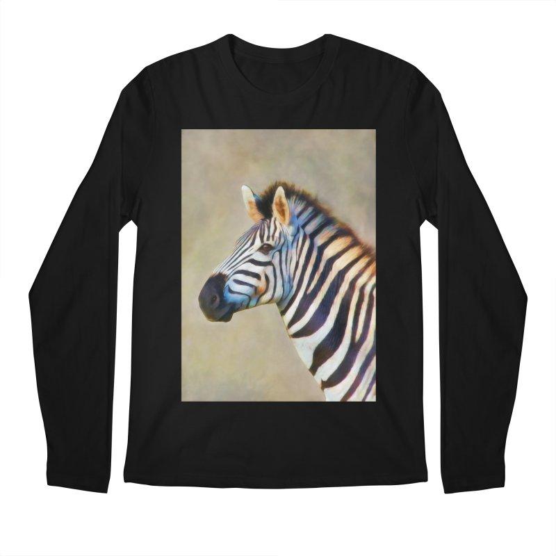 THE ZEBRA Men's Longsleeve T-Shirt by Eddie Christian's Artist Shop
