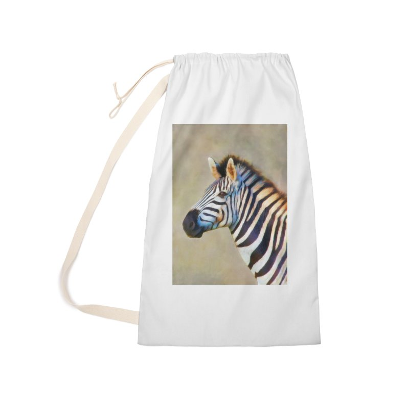 THE ZEBRA Accessories Bag by Eddie Christian's Artist Shop
