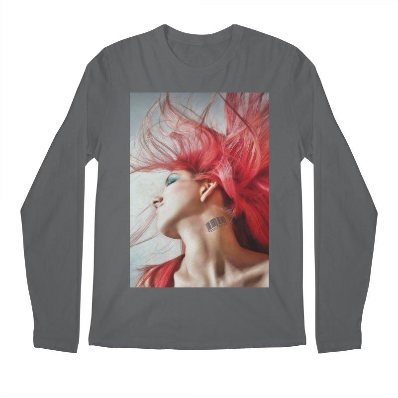 BARCODE Men's Longsleeve T-Shirt by Eddie Christian's Artist Shop