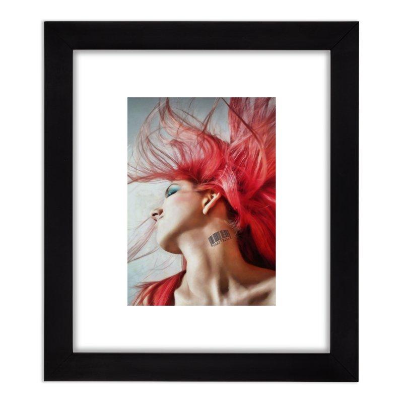 BARCODE Home Framed Fine Art Print by Eddie Christian's Artist Shop