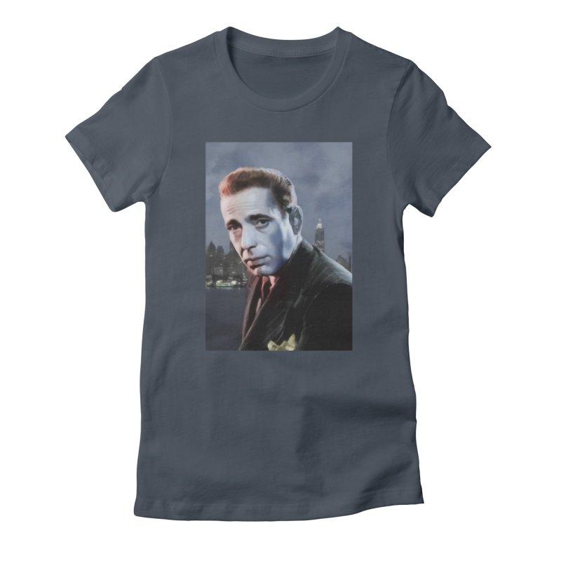 Bogie Nights Women's T-Shirt by Eddie Christian's Artist Shop