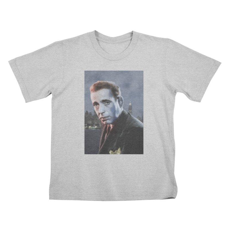 Bogie Nights Kids T-Shirt by Eddie Christian's Artist Shop