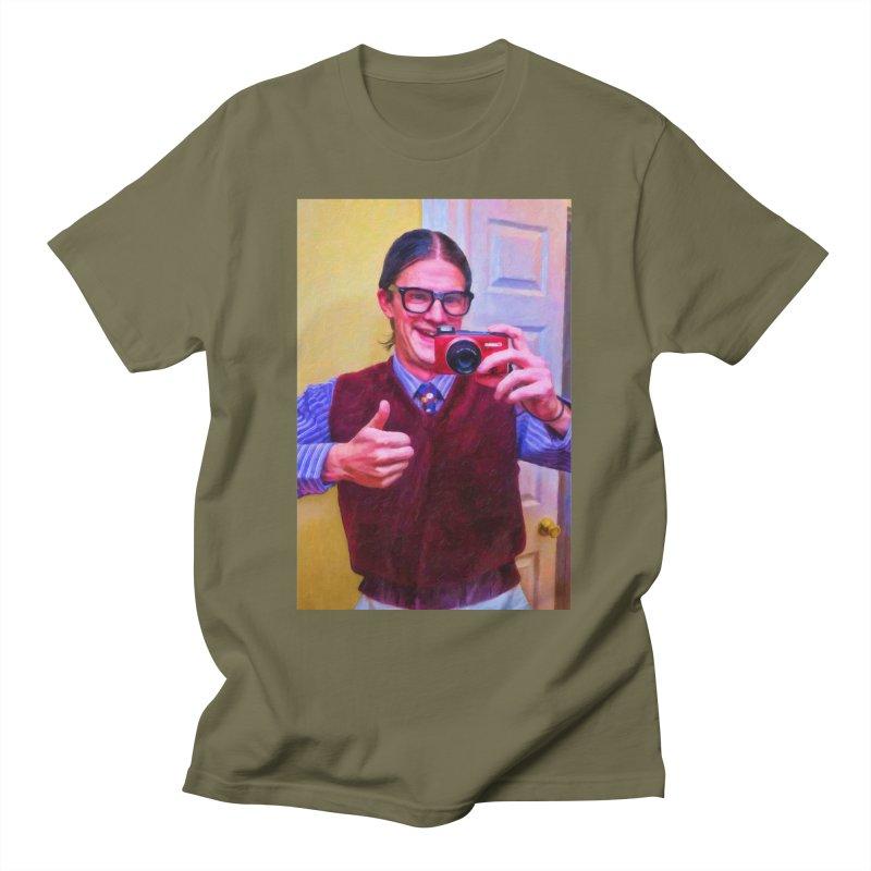 Mommie Loves Me Men's T-Shirt by Eddie Christian's Artist Shop