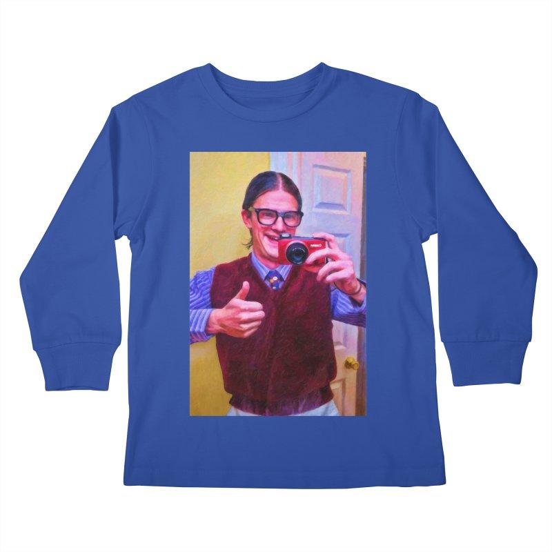 Mommie Loves Me Kids Longsleeve T-Shirt by Eddie Christian's Artist Shop