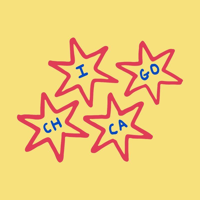 Chicago Stars by Eddie Fieg Graphic Design and Illustration