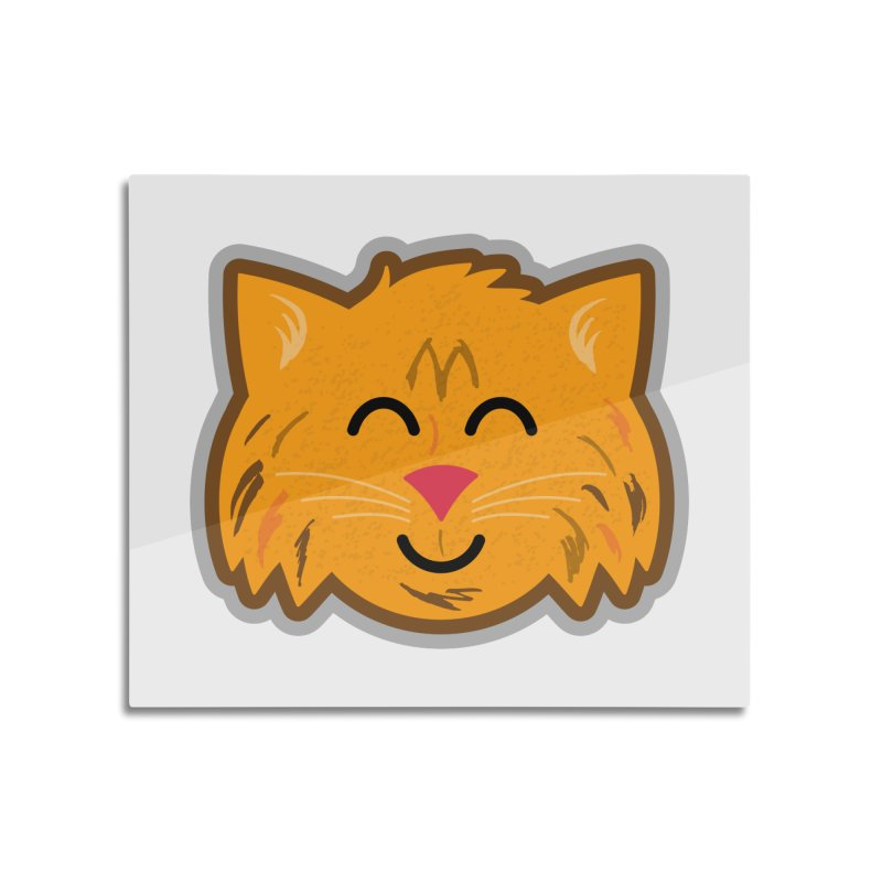 Maine Coon Cat Home Mounted Acrylic Print by Eddie Fieg Graphic Design and Illustration